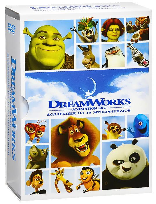 DreamWorks: Коллекция из 10 мультфильмов (10 DVD) #1