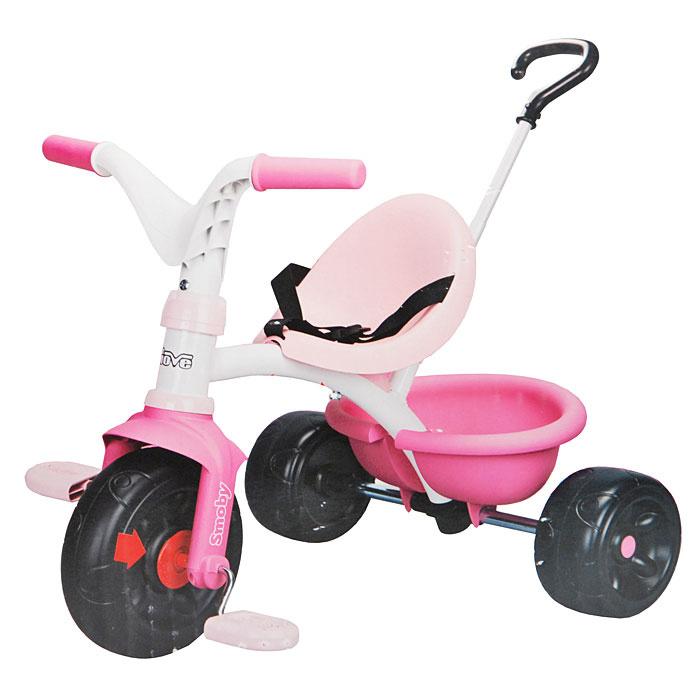 """Трехколесный велосипед Smoby """"Be Move"""", цвет: розовый. 444173 #1"""