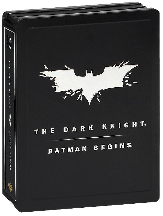 Бэтмен: Начало / Темный рыцарь (3 Blu-ray) #1