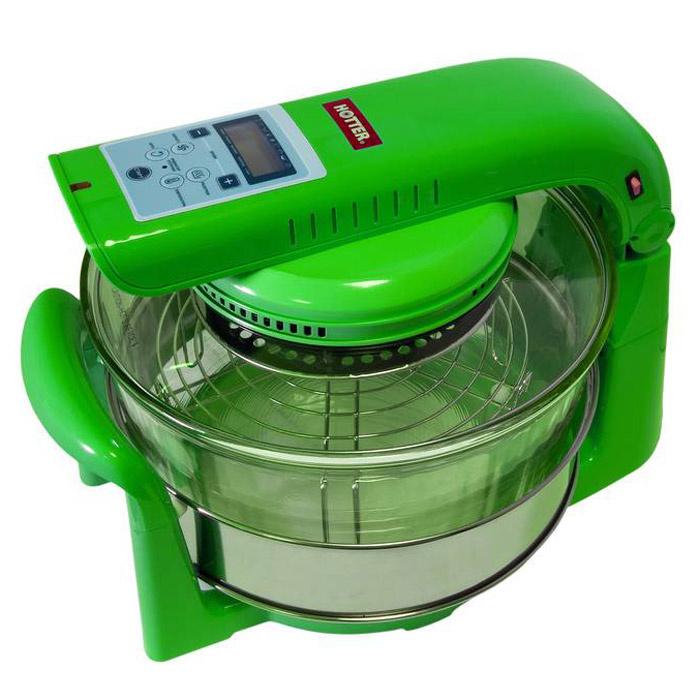 Аэрогриль / конвекционная печь Hotter HX-1098 Smart, зеленый #1