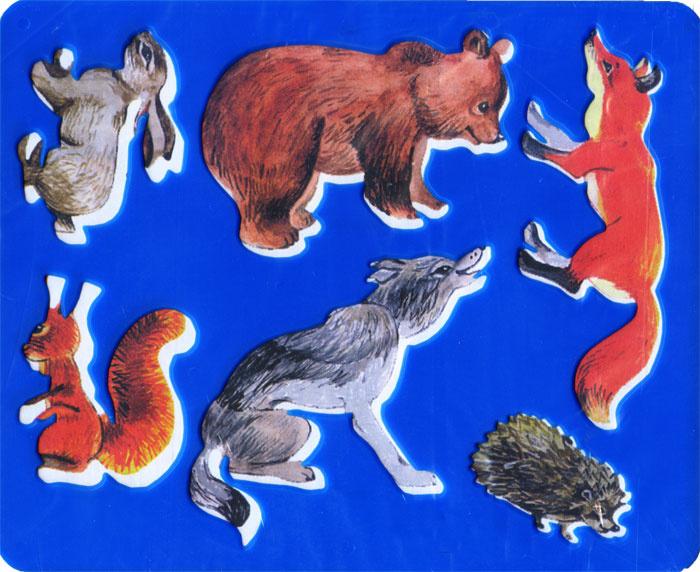 Луч Трафарет Лесные звери цвет в ассортименте #1