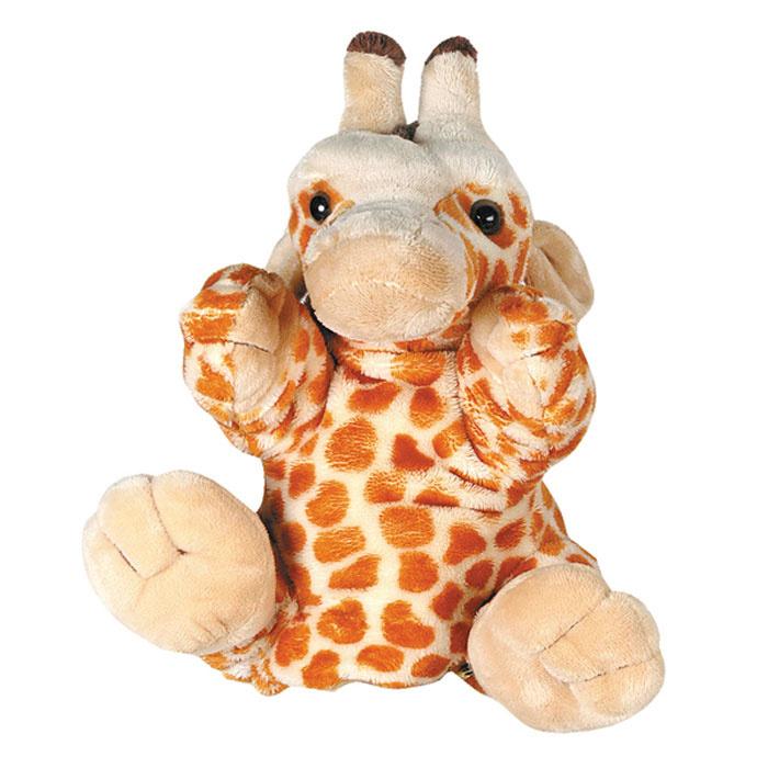 """Мягкая игрушка для кукольного театра """"Жираф"""" #1"""