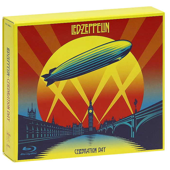 Led Zeppelin: Celebration Day - Deluxe Edition (Blu-ray + DVD + 2 CD) #1