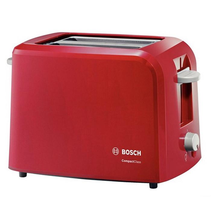 Тостер Bosch TAT3A014, красный #1