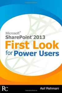 SharePoint 2013 - First Look for Power Users #1