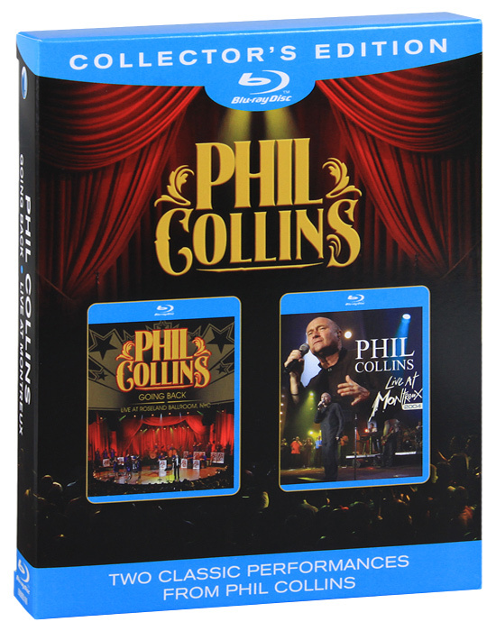 Phil Collins: Going Back / Live At Montreux (2 Blu-ray) #1
