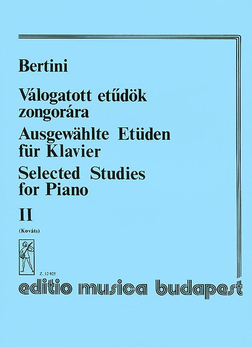 Bertini: Valogatott etudok zongorara II #1