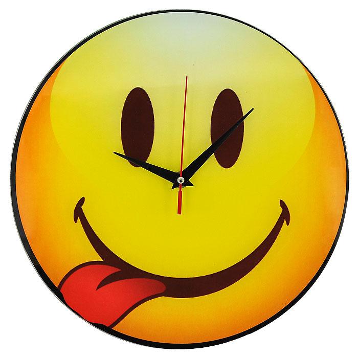 """Часы настенные """"Смайл"""", кварцевые. 94396 #1"""