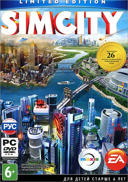 Игра SimCity (PC, Русская версия) #1