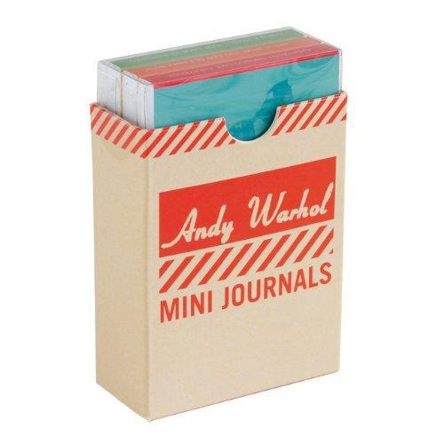 Andy Warhol: 3 Mini Journal #1