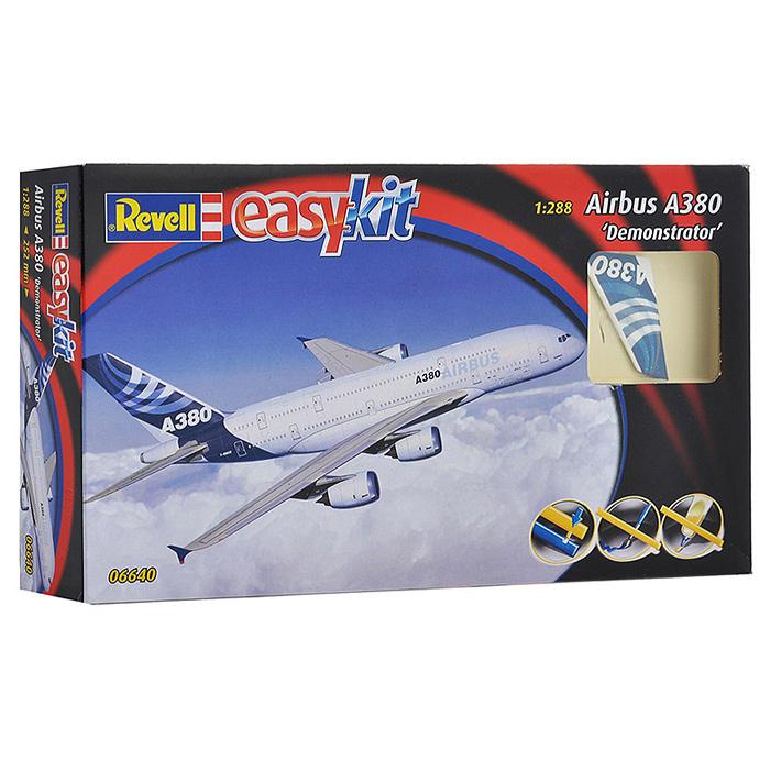 """Сборная модель """"Самолет Airbus A380 (Demonstrator)"""" #1"""