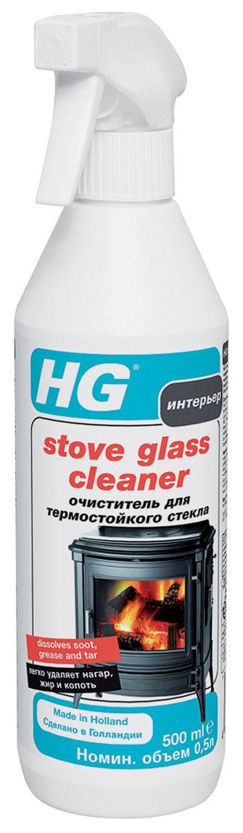 """Очиститель """"HG"""" для термостойкого стекла, 500 мл #1"""
