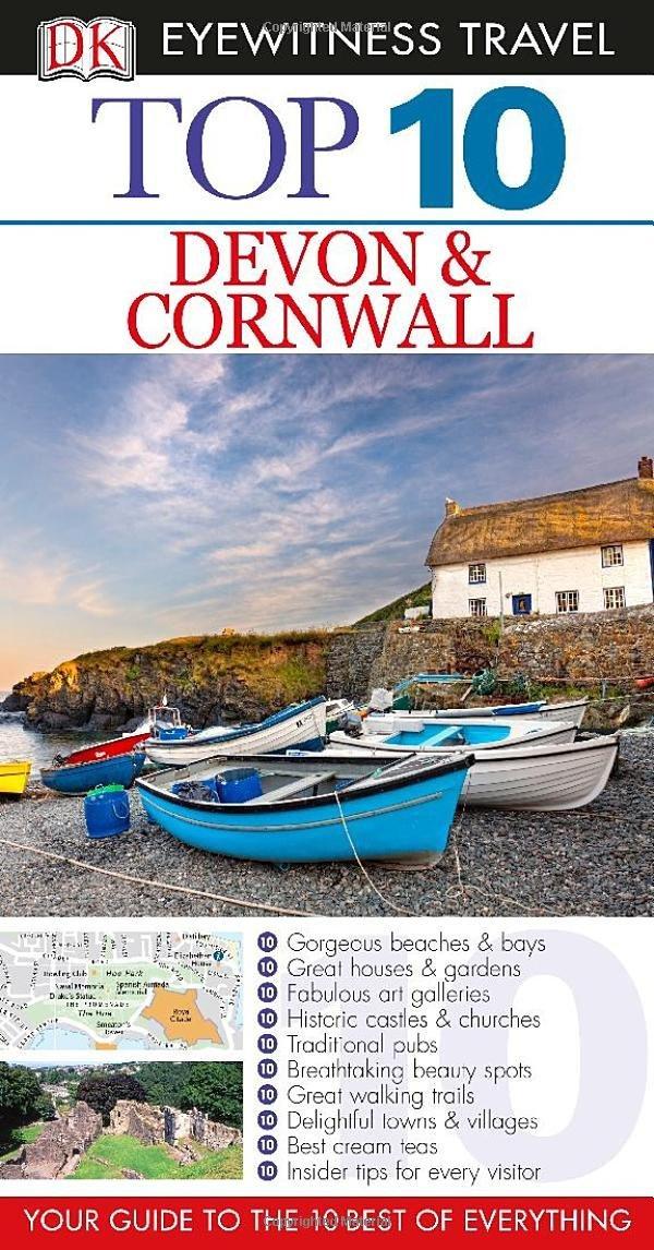 DK Eyewitness Top 10 Travel Guide: Devon & Cornwall #1