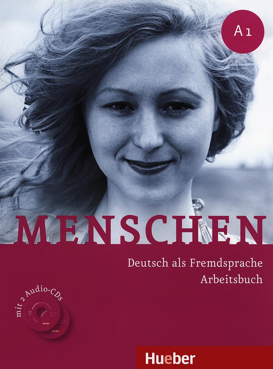 Menschen: Deutsch als fremdsprache arbeitsbuch: A1 (+ 2 CD) | Пуде Ангела, Glas-Peters Sabine  #1