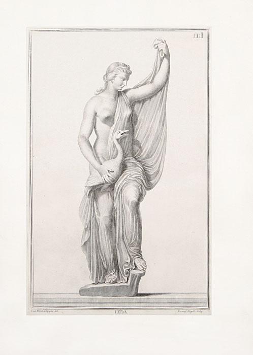 Римские божества. Резцовая гравюра. Западная Европа, середина XVIII века | Кампилья Джованни Доменико, #1