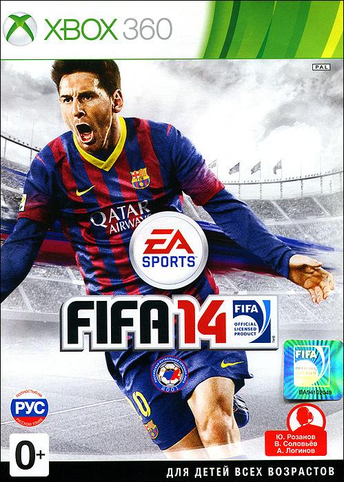 Игра FIFA 14 (XBox360, Русская версия) #1