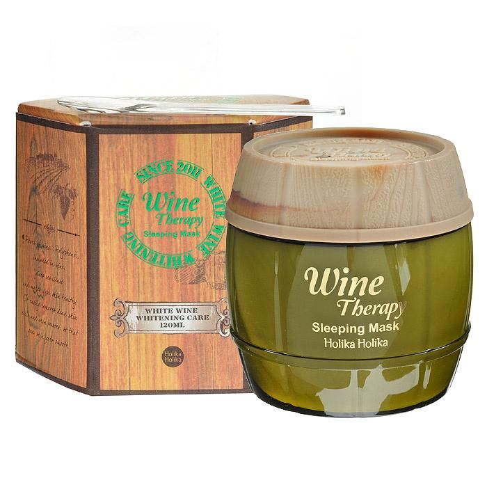 Holika Holika Wine Therapy Sleeping Mask Ночная винная маска-желе Белое вино  #1