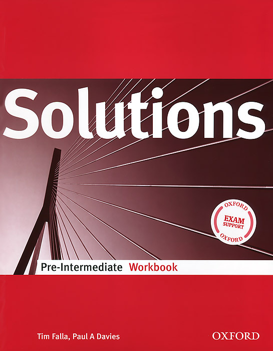 Solutions Pre-Intermediate: Workbook | Davies Paul A., Фэлла Тим #1