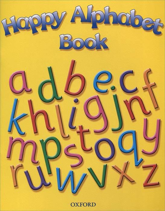 Happy Alphabet Book #1