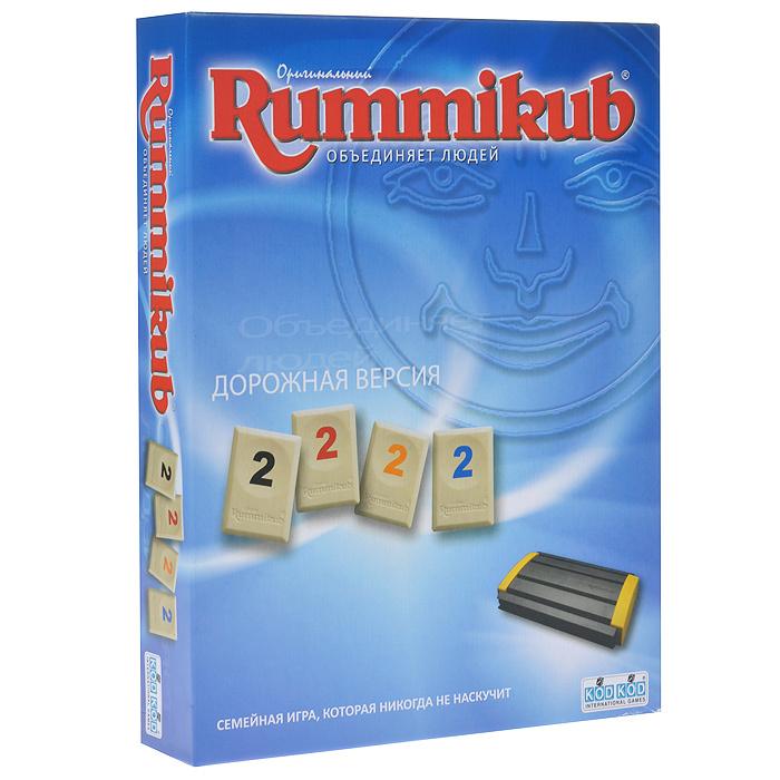 """Игра настольная """"Rummikub"""", с цифрами. Дорожная версия #1"""