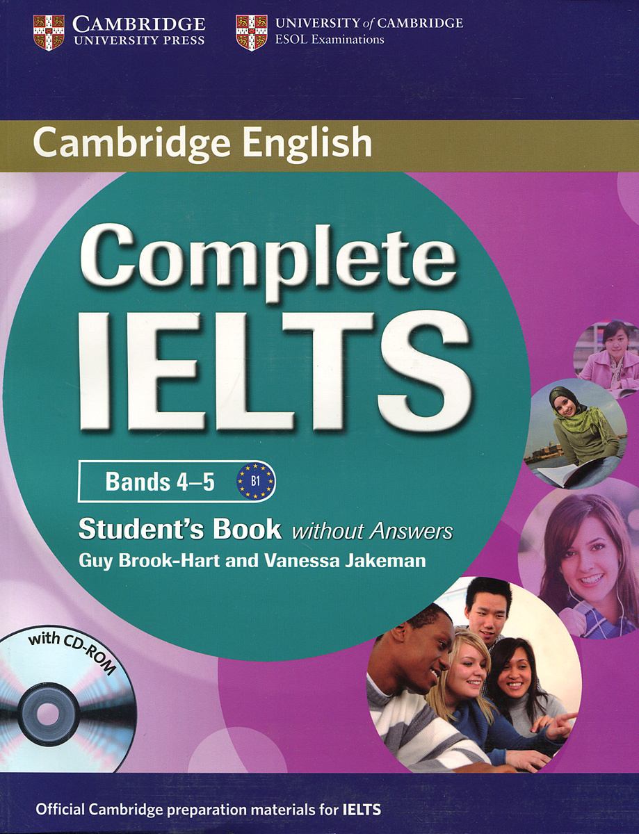 Complete IELTS: Bands 4-5: Student's Book without answers (+ CD-ROM) #1