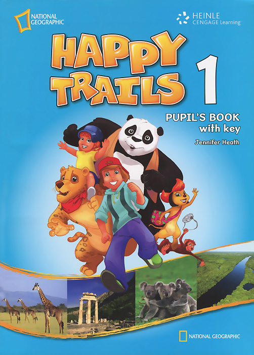 Happy Trails 1: Pupil's Book with Key #1