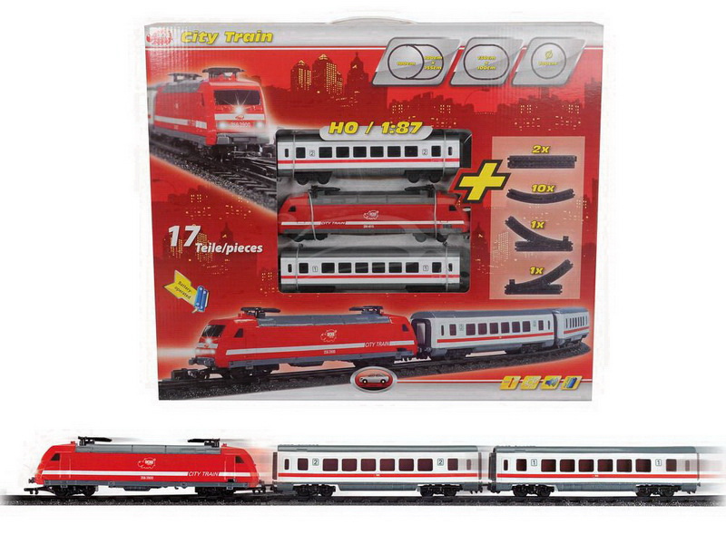 "DICKIE Железная дорога ""City Train"" #1"