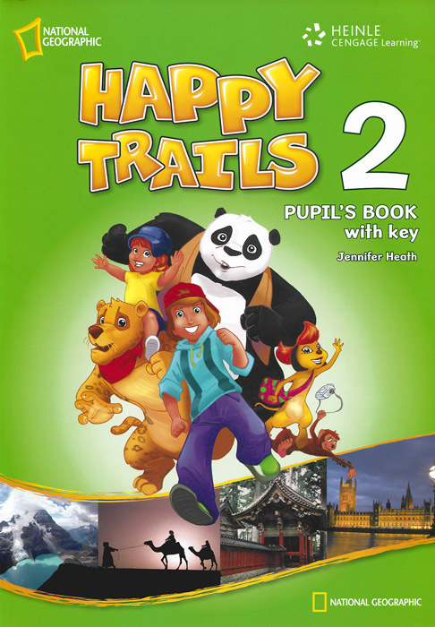 Happy Trails 2: Pupils Book with Key #1