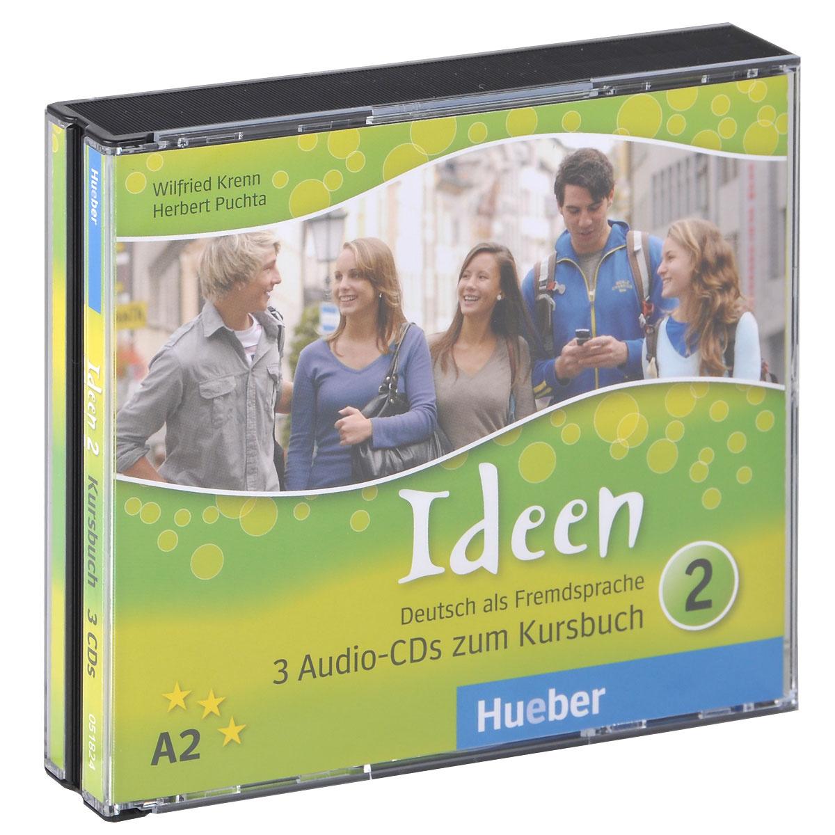 Ideen 2 (аудиокурс на 3 CD) | Krenn Wilfried, Пучта Херберт #1