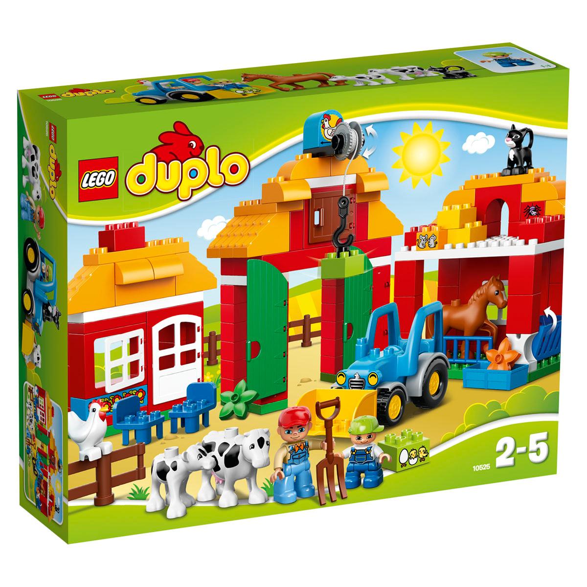 LEGO DUPLO Конструктор Большая ферма 10525 #1