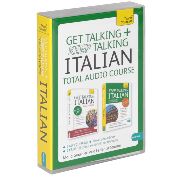 Get Talking and Keep Talking Italian: Total Audio Course (аудиокурс MP3 на 2 CD + разговорник) | Guarnieri #1