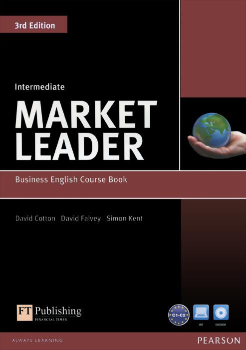 Market Leader: Intermediate: Business English Course Book (+ DVD-ROM) | Кент Саймон, Фэлвей Дэвид  #1