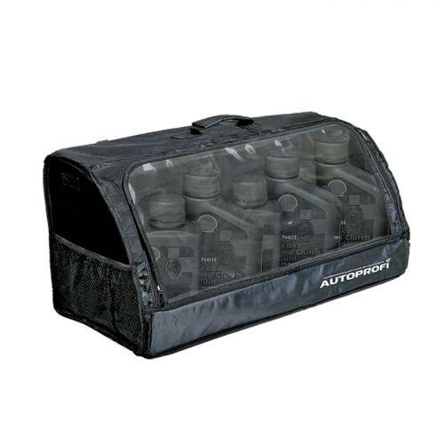 """Сумка-органайзер в багажник Autoprofi """"Travel"""", брезентовая, цвет: черный. ORG-35 BK  #1"""