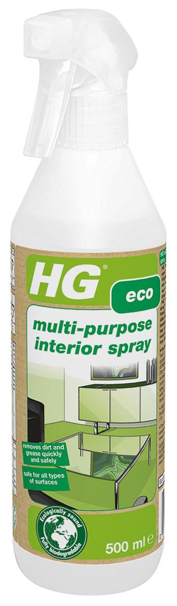 Универсальное средство для чистки элементов интерьера HG, 500 мл  #1