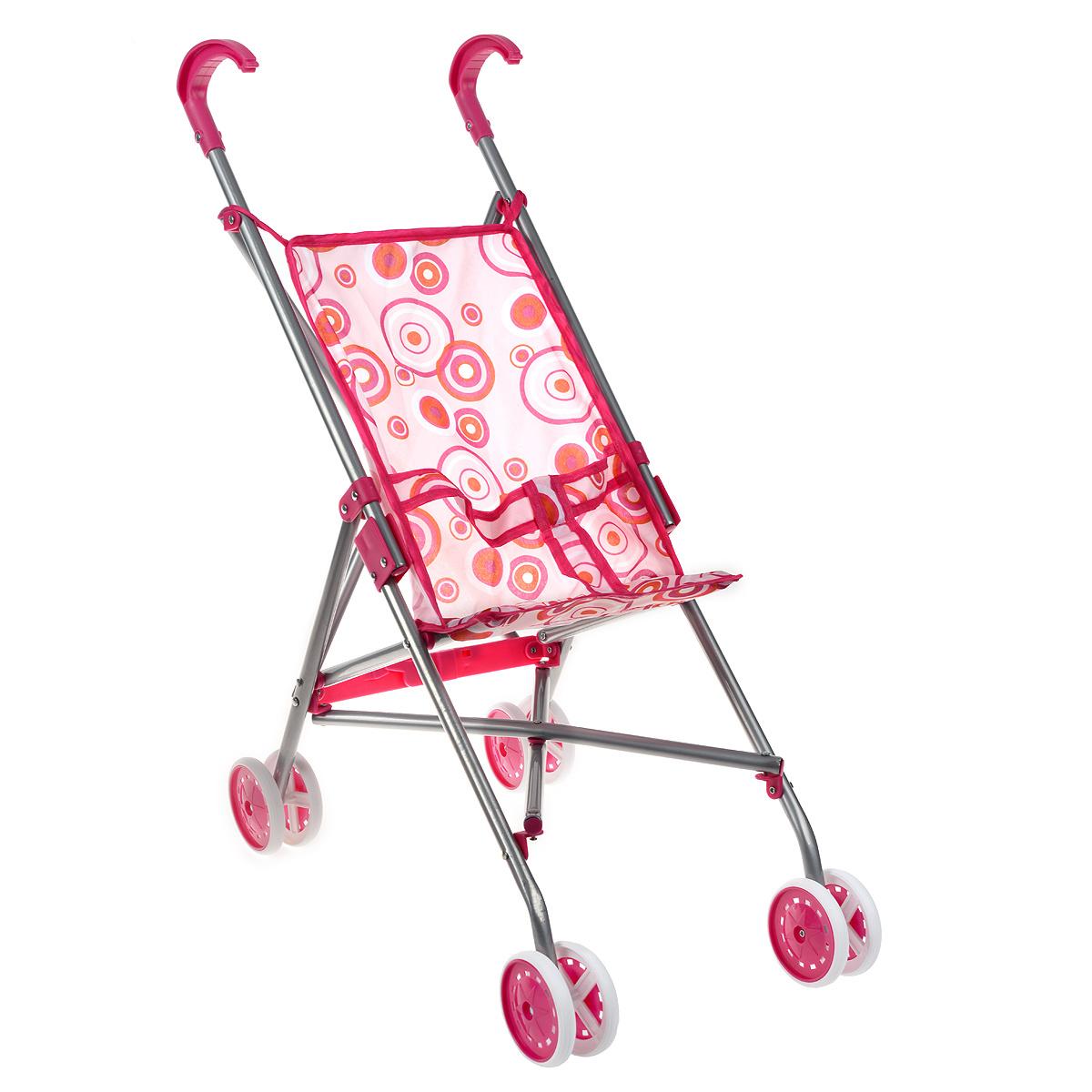 """Прогулочная коляска для кукол """"Melobo"""", цвет: розовый #1"""