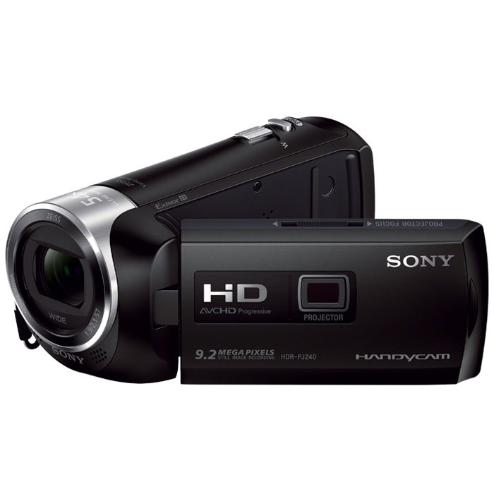 Sony HDR-PJ240E, Black видеокамера #1