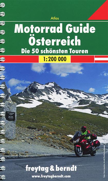 Motorrad Guide Osterreich: Die 50 schonsten Touren: Atlas #1
