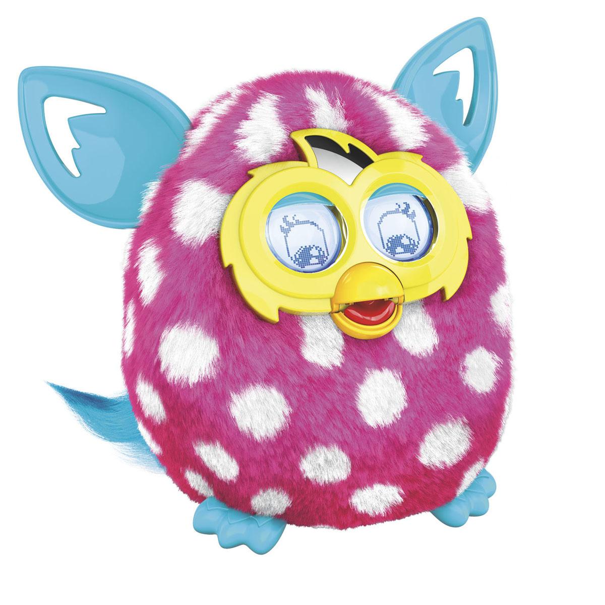 52ce8ab29185 Furby (Фёрби) Boom Интерактивная игрушка Солнечная волна (Рисунок белый  кружок) — купить в интернет-магазине OZON.ru с быстрой доставкой
