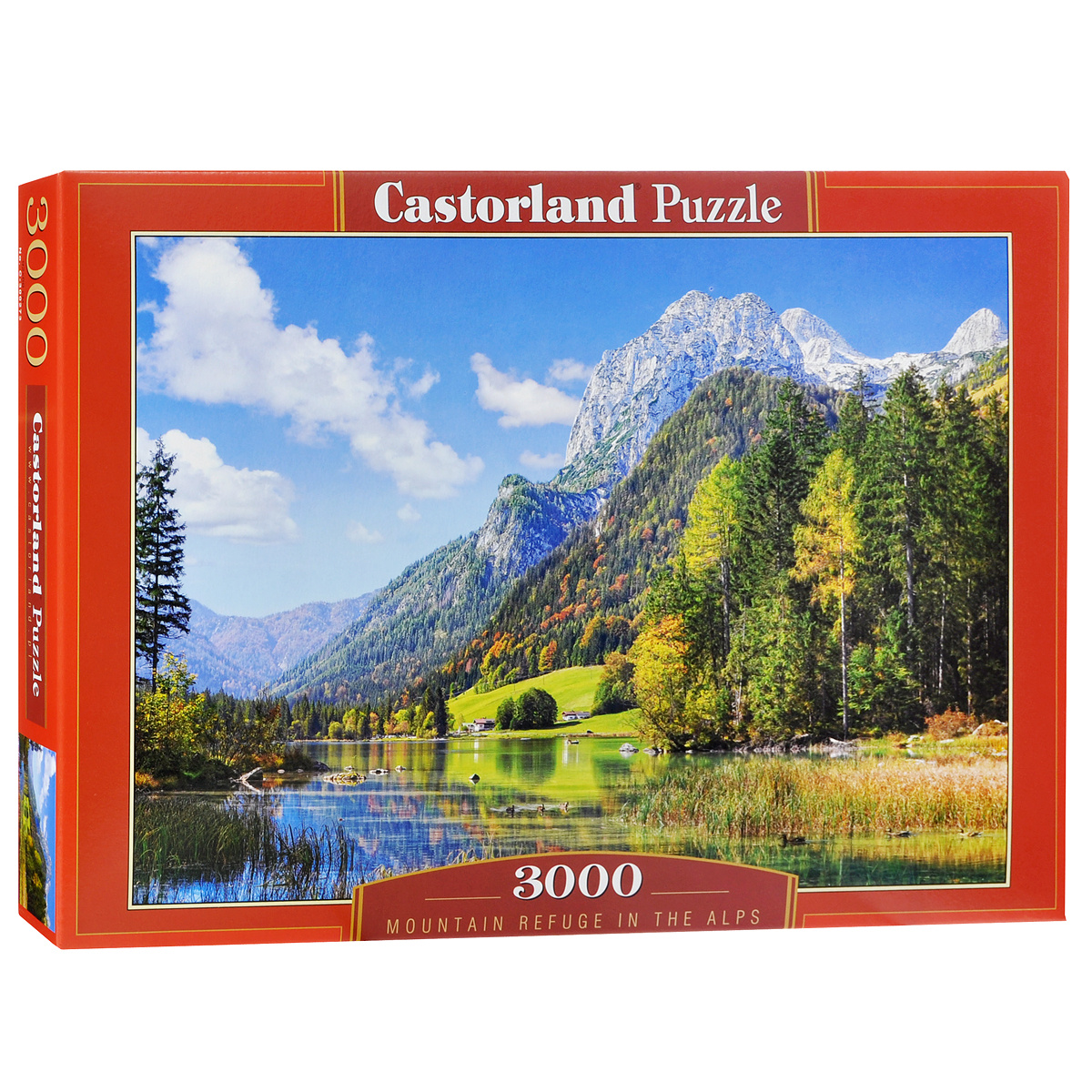 Горы в Альпах. Пазл, 3000 элементов #1