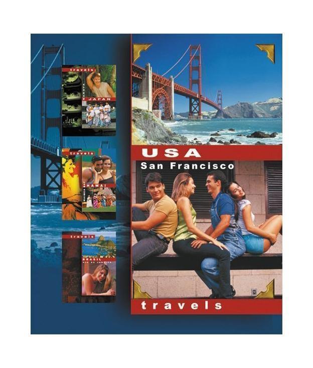 "Тетрадь ACTION! на кольцах ""Travels.USA.SanFrancisco"" #1"