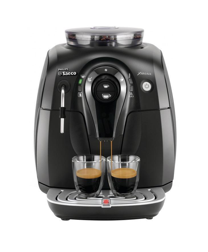 Philips Saeco HD8743/19 Xsmall, Black кофемашина #1