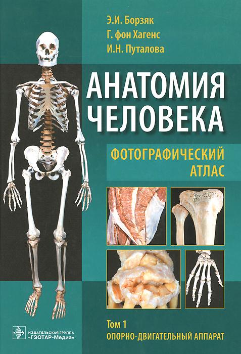 Анатомия человека. Фотографический атлас. В 3 томах. Том 1. Опорно-двигательный аппарат. Учебное пособие #1
