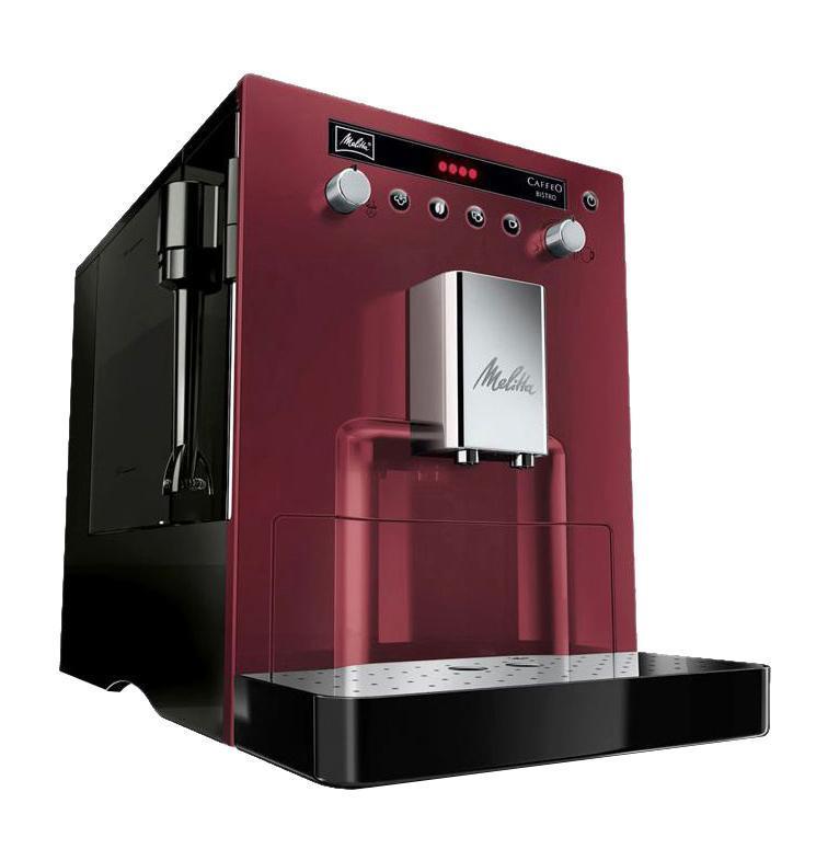 Автоматическая кофемашина Melitta Melitta Caffeo Bistro E960, красный, черный  #1