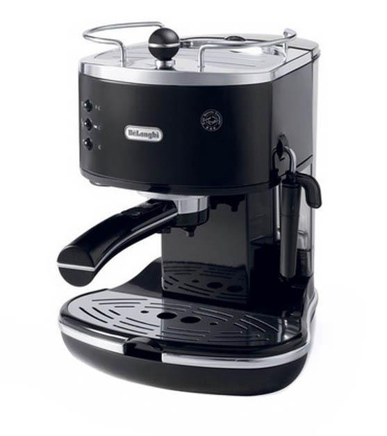 Кофеварка рожковая Рожковая DeLonghi DeLonghi ECO 310.BK, Black кофеварка, черный  #1