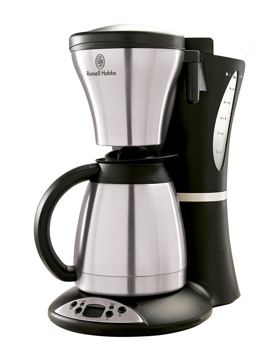 Кофеварка капельная Russell Hobbs Кофеварка Russell Hobbs 13895-56, серый, черный  #1