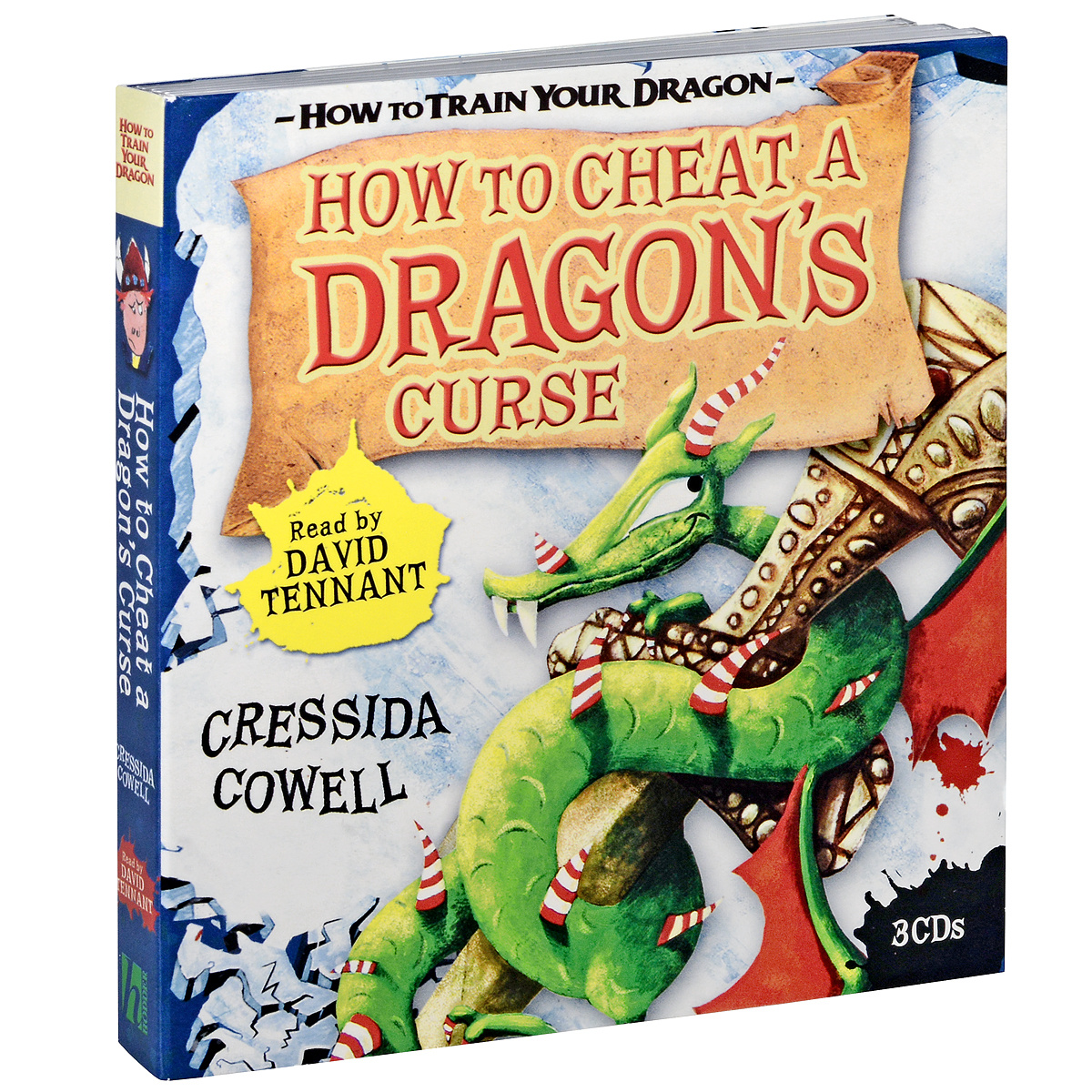 How to Cheat a Dragon's Curse (аудиокнига на 3 CD) | Коуэлл Крессида #1