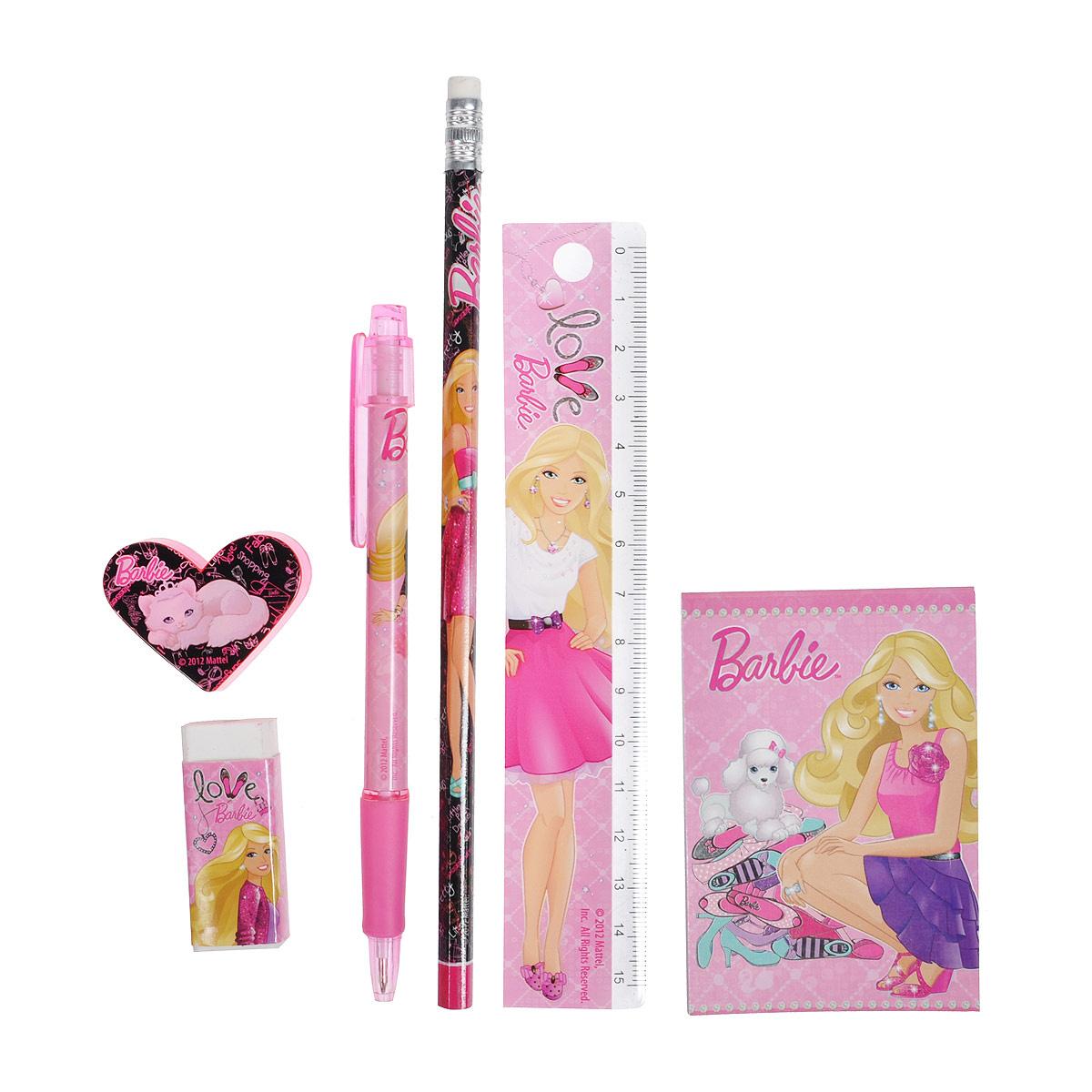 BRAB-US1-75409-H Набор канцелярский Barbie #1