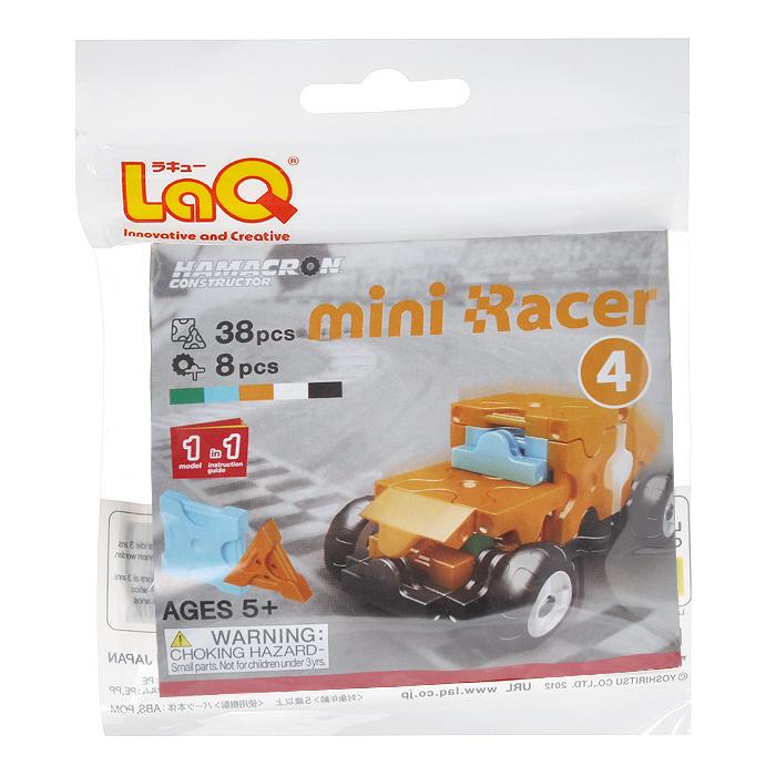 "Конструктор LaQ ""Mini Racer Orange"", 38 элементов #1"