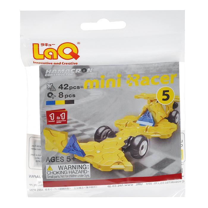 "Конструктор LaQ ""Mini Racer Yellow"", 42 элемента #1"