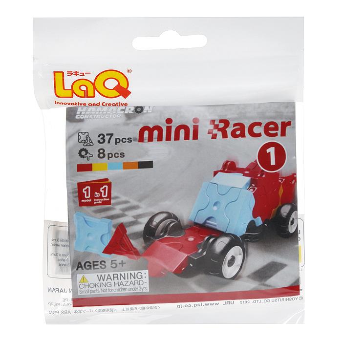 """Конструктор LaQ """"Mini Racer Red"""", 37 элементов #1"""